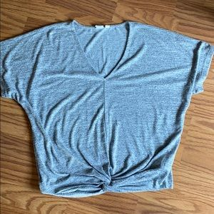 Gap short dolman sleeve, knotted front
